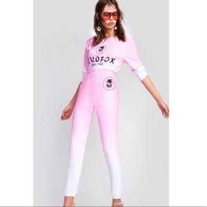 🆕 Wildfox Beverly Hills Ombré Sweat Yoga Pants